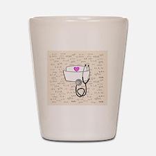 Nurse Cream Shot Glass