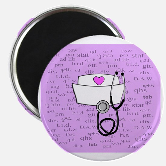 Nurse Pink Magnet