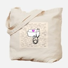 Nurse Cream Tote Bag