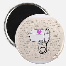 Nurse Cream Magnet