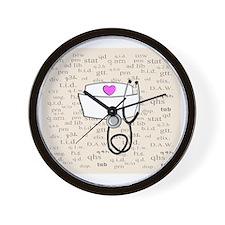 Nurse Cream Wall Clock
