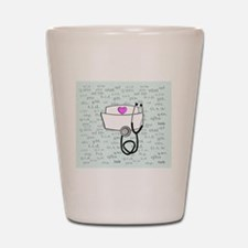 Nurse Shot Glass
