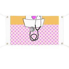 Nurse Pink Orange Banner