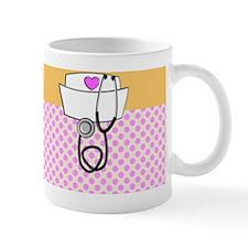 Nurse Pink Orange Mug