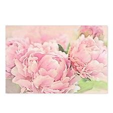 Pink Peonies Postcards (Package of 8)