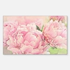 Pink Peonies Decal