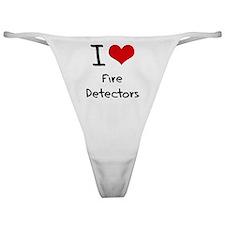 I Love Fire Detectors Classic Thong