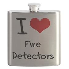 I Love Fire Detectors Flask