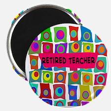 retired teacher 2 Magnet