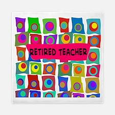 Retired Teacher Queen Duvet