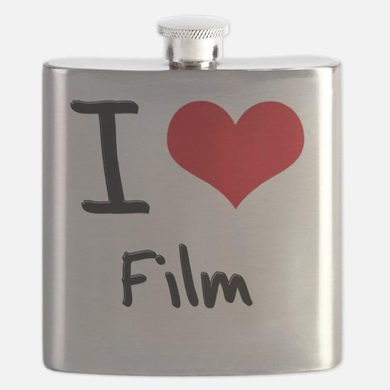 I Love Film Flask