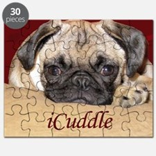 Adorable iCuddle Pug Puppy Puzzle