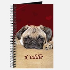 Adorable iCuddle Pug Puppy Journal