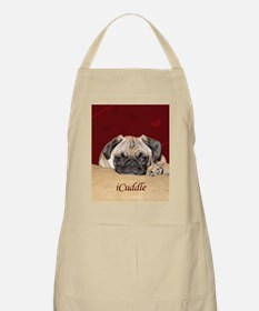 Adorable iCuddle Pug Puppy Apron