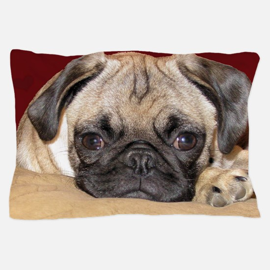Adorable iCuddle Pug Puppy Pillow Case