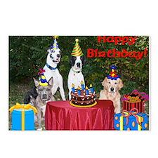 BirthdayCard.png Postcards (Package of 8)