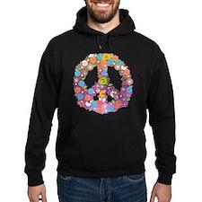 Colorful peace Hoodie