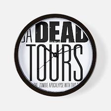 GA DEAD TOURS Wall Clock