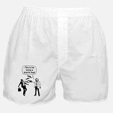 Cartoon: Anti-Plastic Waste Activist Boxer Shorts
