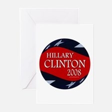 Hillary 3-D Stars Greeting Cards (Pk of 10)