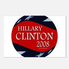 Hillary 3-D Stars Postcards (Package of 8)