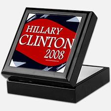 Hillary 3-D Stars Keepsake Box