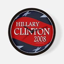 Hillary 3-D Stars Wall Clock