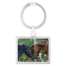 Best Friends Forever Landscape Keychain