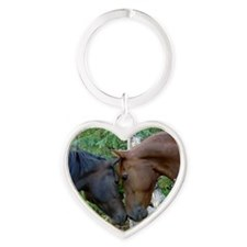 Best Friends Forever Heart Keychain