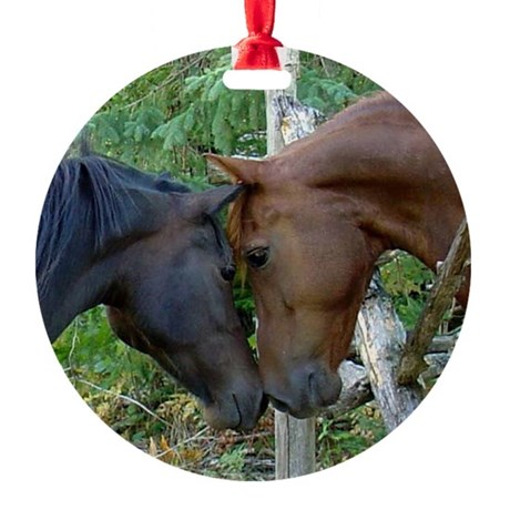 Best Friends Forever Round Ornament