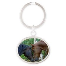 Best Friends Forever Oval Keychain
