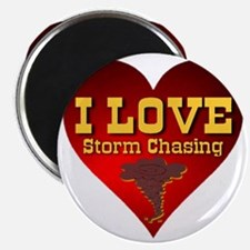 I Love Storm Chasing Magnet