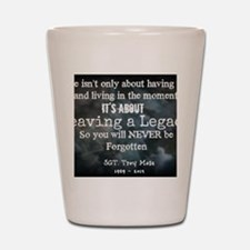 Leaving a Legacy Tee Shot Glass