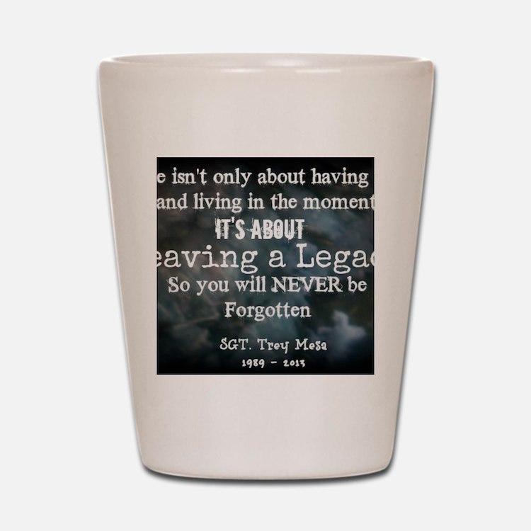 Leaving a Legacy Tee Shot Glass