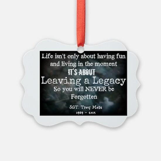 Leaving a Legacy Tee Ornament