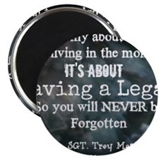 Leaving a Legacy Tee Magnet