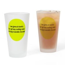 candyyellow Drinking Glass