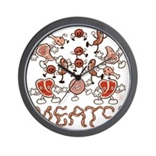 MEATS! Wall Clock