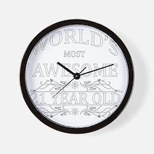 21 Wall Clock