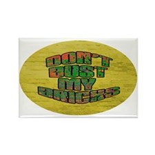 Sticker Oval-5x3 Rectangle Magnet