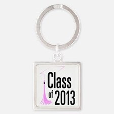 Graduation Class of 2013 Square Keychain