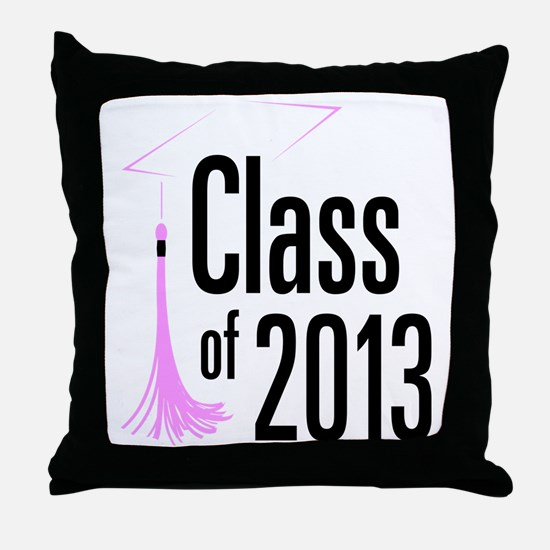 Graduation Class of 2013 Throw Pillow