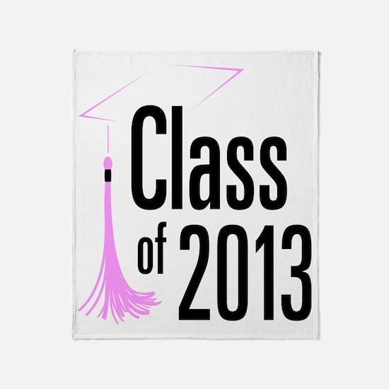 Graduation Class of 2013 Throw Blanket