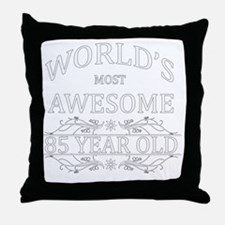 85 Throw Pillow
