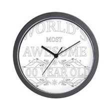 100 Wall Clock