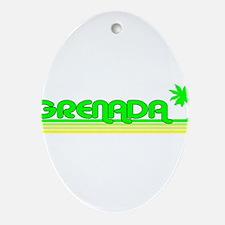 Grenada Oval Ornament
