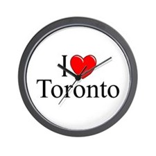 """I Love Toronto"" Wall Clock"