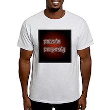 PrivatePropertyButton35 T-Shirt