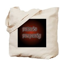 PrivatePropertyButton35 Tote Bag