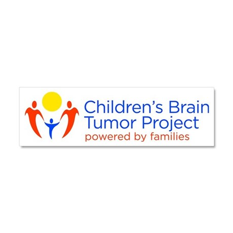 Childrens Brain Tumor Project Car Magnet 10 x 3
